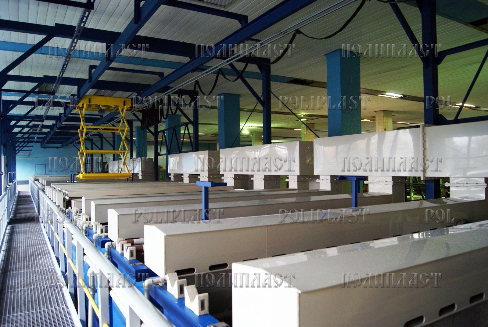 Gallery of electroplating equipment - Poliplast Ltd